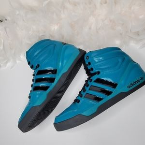 Adidas original high tops men's size 9.5
